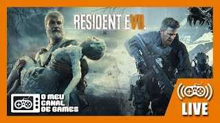 [Live] Resident Evil 7: NOT A HERO / END OF ZOE (PS4 Pro) - Até Zerar AO VIVO
