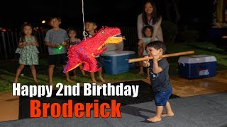 Broderick's 2nd Birthday Party - Hawaii 2018