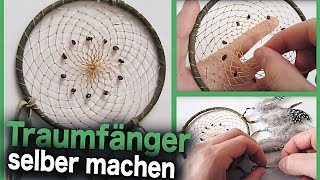 Traumfänger Selber machen! Do it Yourself Dreamcatcher DIY  | TvMixMax