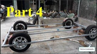 Homemade Lamborghini car - Part 4