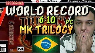 World Record Mortal Kombat Trilogy PC SpeedRun 7:01  BySpeed