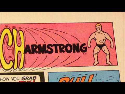 COMIC MAN PRODUCTIONS: KENNER STRETCH ARMSTRONG THE PHANTOM COMIC BOOK AD 1977