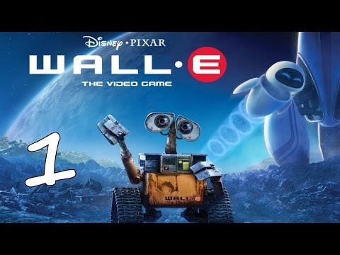 Disney WALL-E Video Game First Hour Gameplay Walkthrough Part 1 English