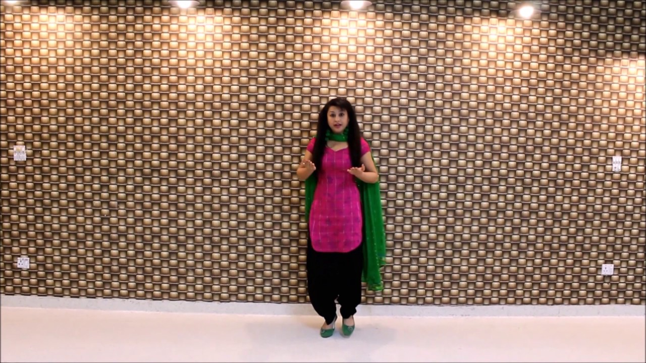 Easy Steps For Wedding Dance Free Style And Giddha Tutorial By RIPANPREET SIDHU