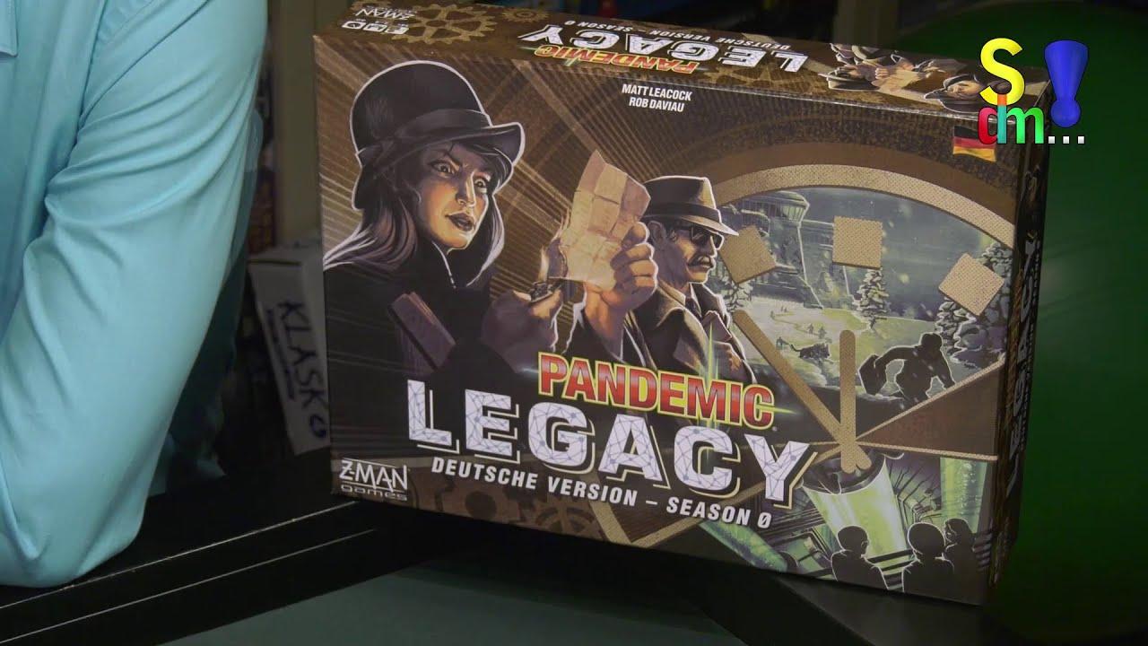 Pandemic Legacy Season 0 +++ Spielvorstellung und Interview mit Asmodee - Spiel doch mal...!