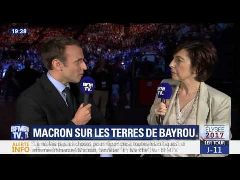 Interview d'Emmanuel Macron en direct de Pau