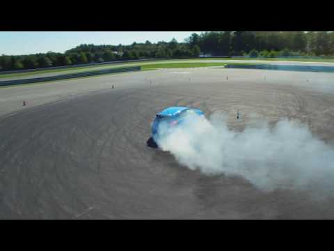 Ford Focus RS - Skid Pad