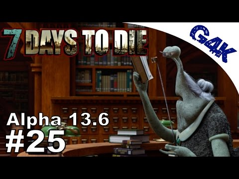 Local Bookstore | 7 Days To Die Alpha 13 Let's Play | Part 25