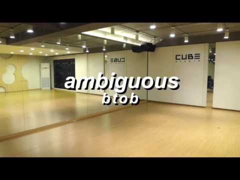 Ambiguous (알듯말듯해) By Btob While You're At Cube's Practice Studio. [A CAPPELLA]