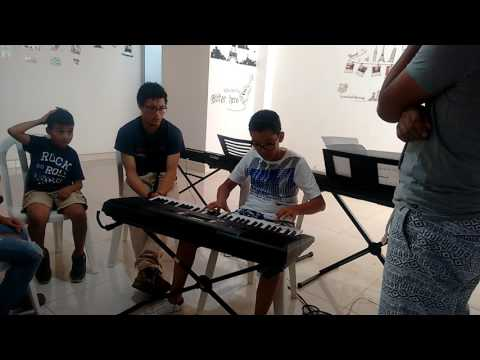 FUNACSEP. Escuela de música, (ensayo - fur elise)