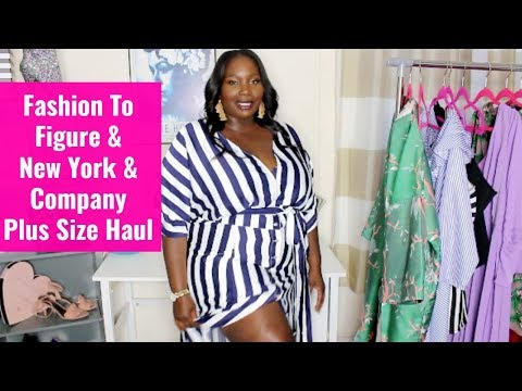 Plus Size Fashion to Figure & New York and Company Spring Haul/Try On