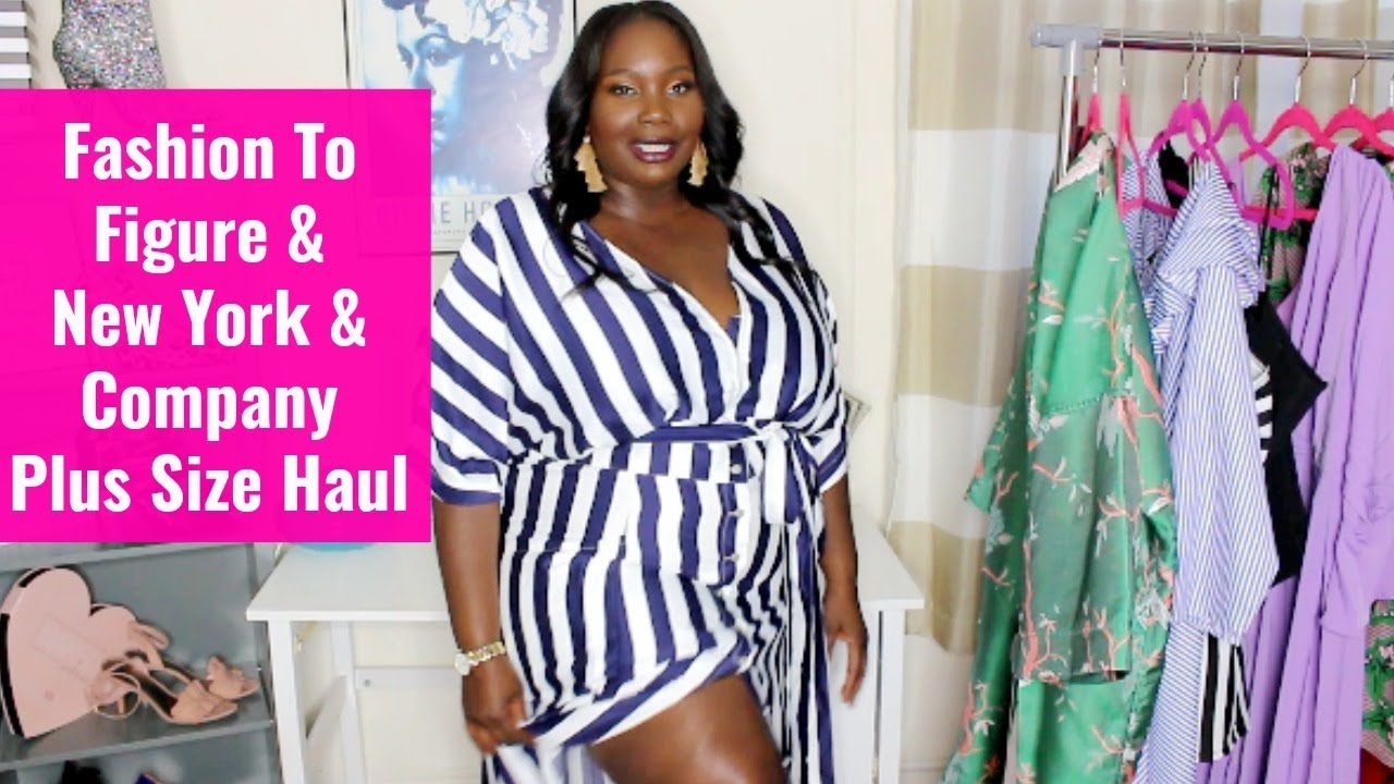 Plus Size Fashion to Figure & New York and Company Spring Haul/Try ...