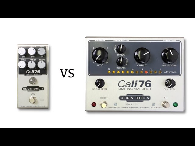 Origin Effects Cali76 vs Cali76 Compact Deluxe