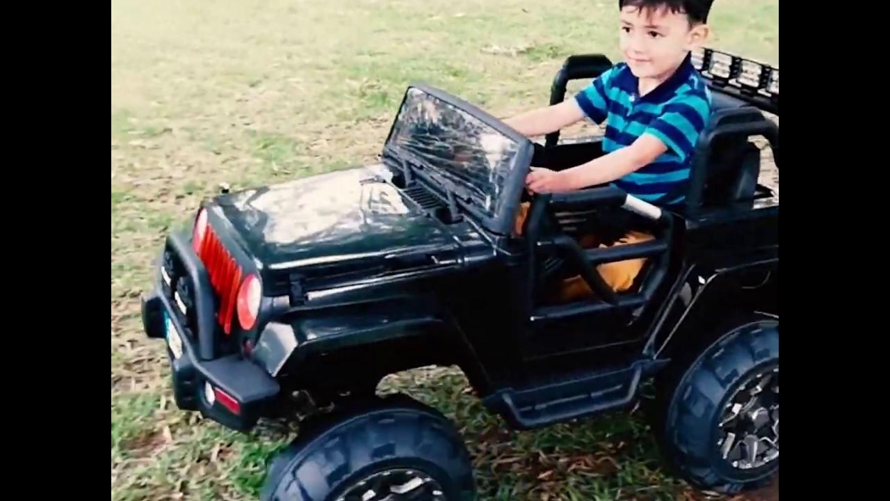 Motor para carro electrico de niño