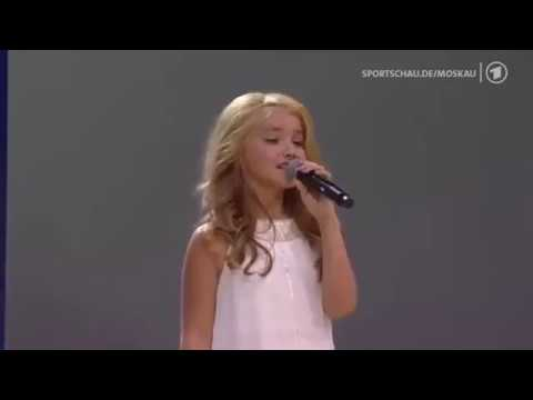 National Anthem of Russian Federation : IAAF Moscow 2013 Opening Ceremony