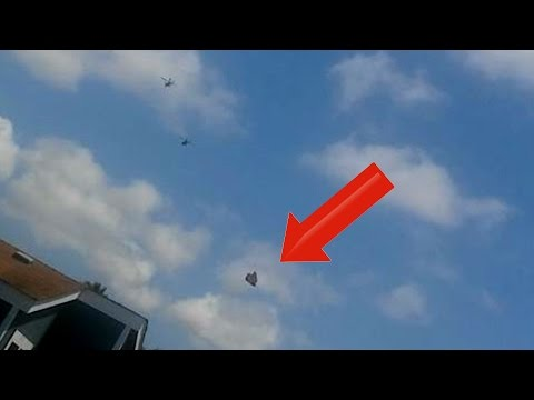 STUNNING!! Apache Helicopters Intercept UFO Over Ventura CA 5/8/2016
