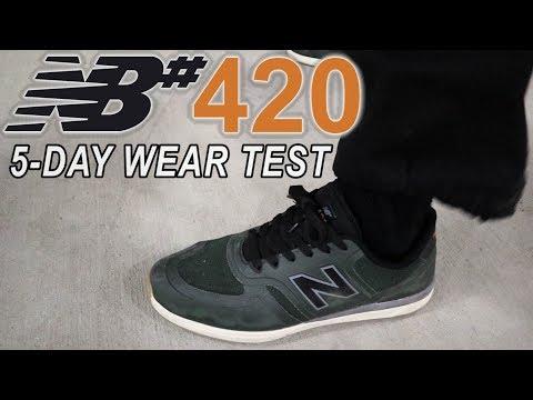 NEW BALANCE NUMERIC 420   Exclusive Sneak Peek Wear Test