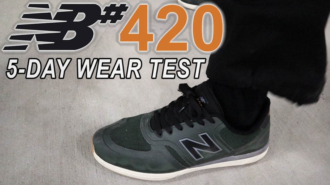 b03970f7bc NEW BALANCE NUMERIC 420 | Exclusive Sneak Peek Wear Test