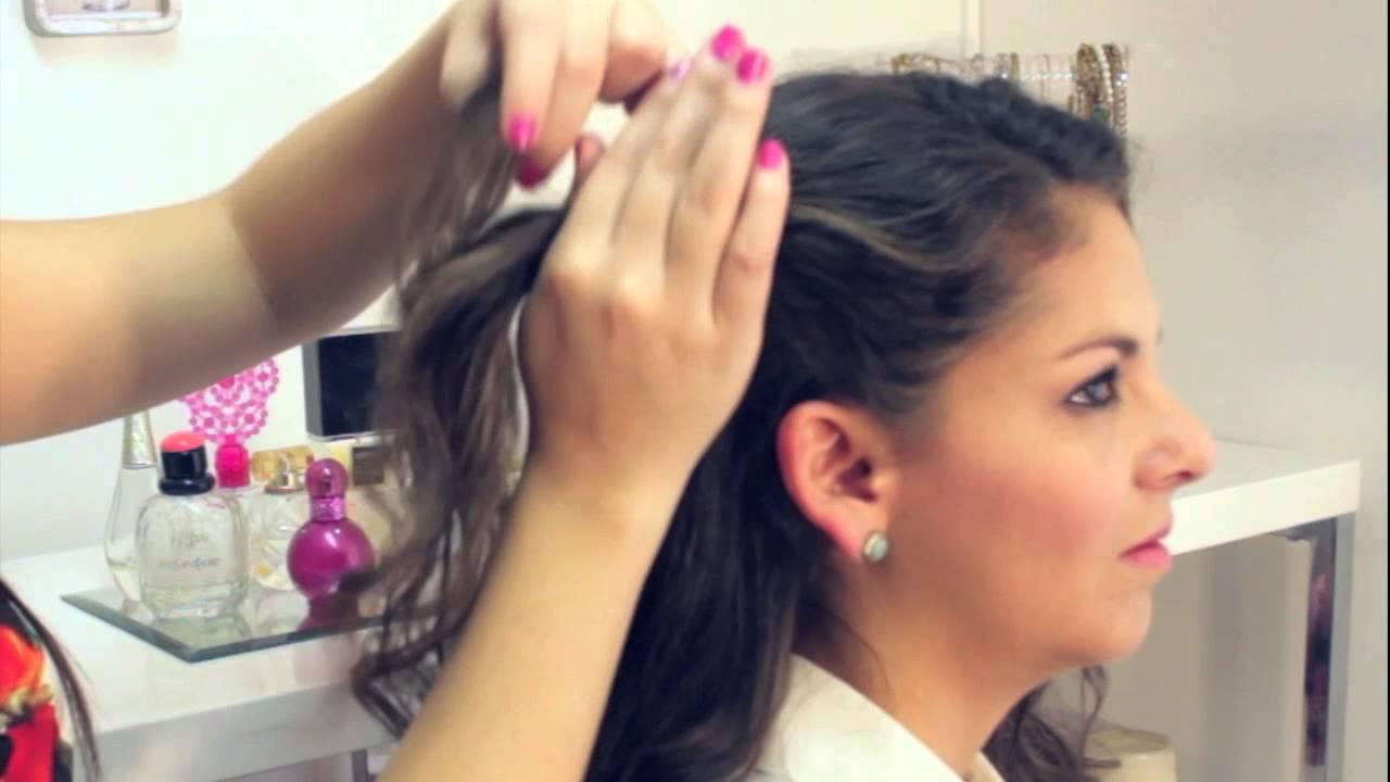 3 Peinados Para Cabello Ondulado Youtube
