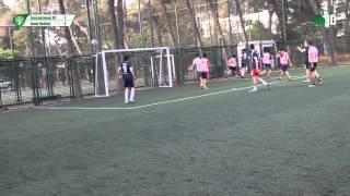 1.İzmirnazional - 7 - 2.İzmir United -2  / İZMİR / iddaa Rakipbul Ligi 2015 Açılış Sezonu