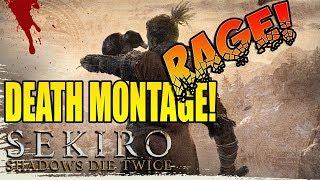 Sekiro Shadows Die Twice - FUNNY DEATH RAGE MONTAGE! thumbnail