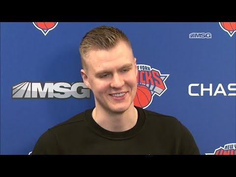 Kristaps Porzingis on Injury, Jeff Hornacek   New York Knicks   MSG Networks