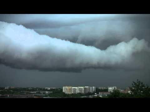 Hurricane is coming.