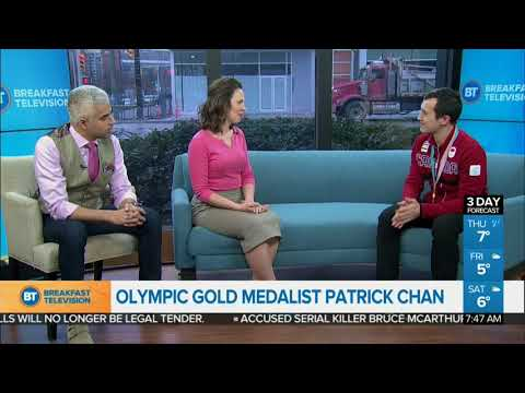 Olympic Gold Medalist Patrick Chan