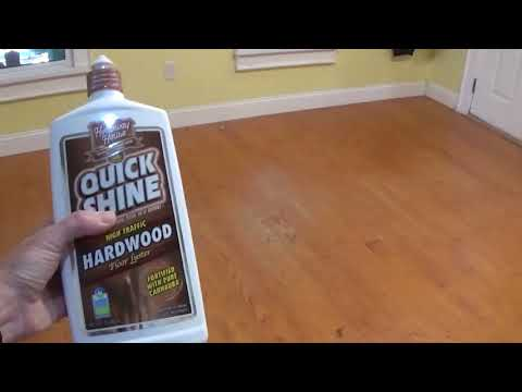 How to rejuvenate an old wood floor