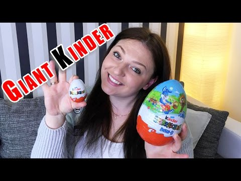 Гигантский Киндер   Giant Kinder  Kinder Riesen Ei