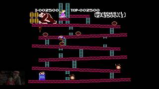 """Donkey Kong (Playthrough - Possibly the new """"King Of Kong""""? XD)"""