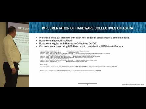 Evaluation of Hardware-Based MPI Acceleration on Astra