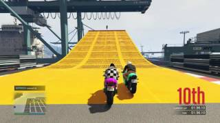Racing with FreightTrainWTF!! -Over and Under- Grand Theft Auto 5 Online