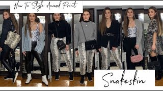 HOW TO STYLE ANIMAL PRINT   7 Outfit Ideas!   MELINDA BROOKE