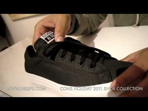 886c63472713b3 CONVERSE CONS HOLIDAY 2011 SHOE COLLECTION - HRLife - YouTube