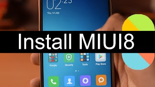How To Install MIUI 8 In Redmi Note 3 [No Data Loss]