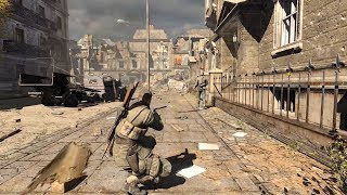 AMAZING WW2 Sniper Gameplay from Sniper Elite V2 Remastered Game on PC
