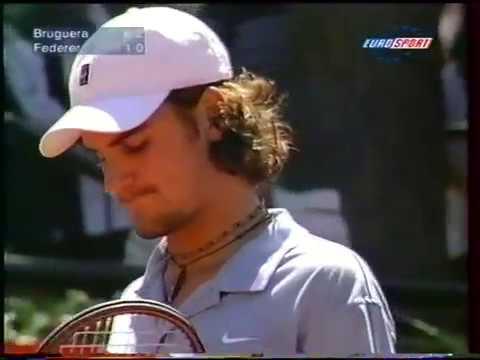 Barcelona 2000 R1 - Federer vs Bruguera (Part 2)