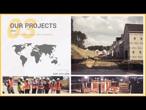 Construction Company Profile - After Effects Template