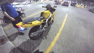 My bike and why I chose to start on a 600cc - Night Vlog