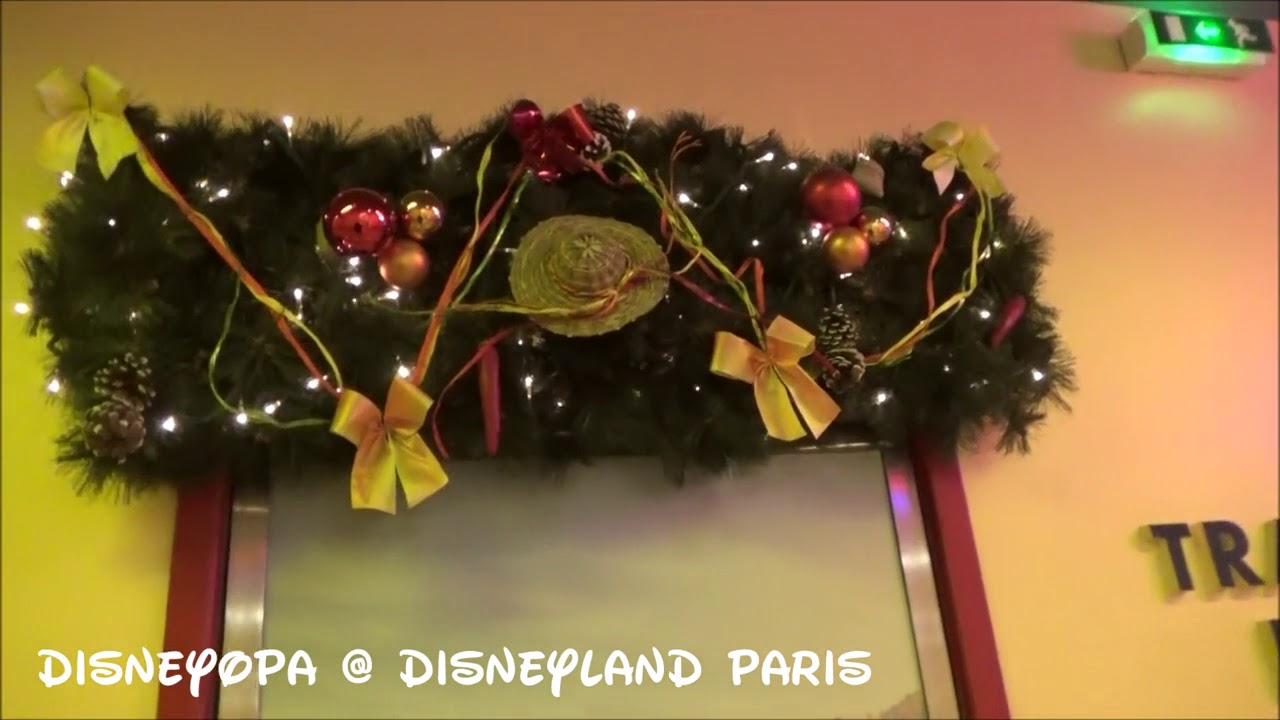 Disneyland Paris Christmas Decorations Disney S Hotel Santa Fe Disneyopa