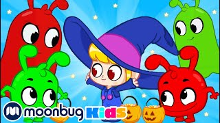 Morphle - Orphle Steals HALLOWEEN Candy   ABC 123 Moonbug Kids   Fun Cartoons   Learning Rhymes