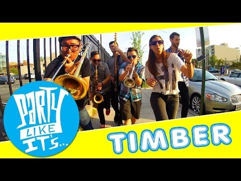 Timber - Pitbull ft. Ke$ha - Ska Cover by Party Like It's... - (Official Music Video)