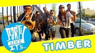 Timber - Pitbull ft. Ke$ha - Ska Cover by Party Like It's... - (Official Music Video)