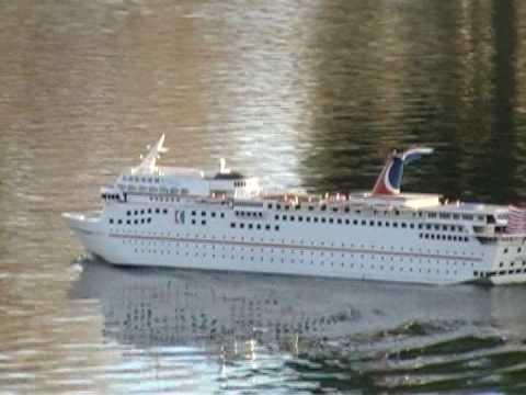 Foot RC Cruise Ship ECSTASY Video YouTube - Remote control cruise ship
