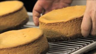 Ferrara Bakery & Cafe New York Pecan Pumpkin Cheesecake