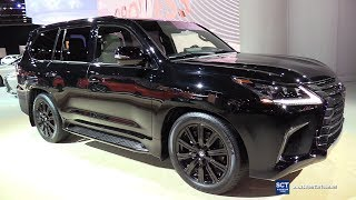 2019 Lexus LX 570 Inspiration Series - Exterior and Interior Walkaround - 2019 Detroit Auto Show