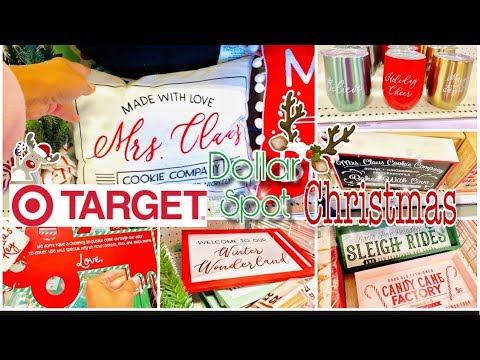 TARGET DOLLAR SPOT CHRISTMAS 2019 | CHRISTMAS DOLLAR SPOT SHOP WITH ME