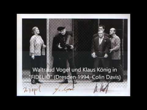 """Waltraud Vogel und Klaus König in """"Fidelio"""" (1994)"""