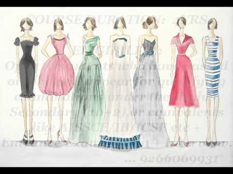 Fashion designing courses call 9266069931 youtube Fashion designing schools
